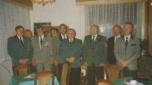 Vorbereitende Gründungsversammlung am 02.09.1993 im Schützenhaus Wolmirstedt